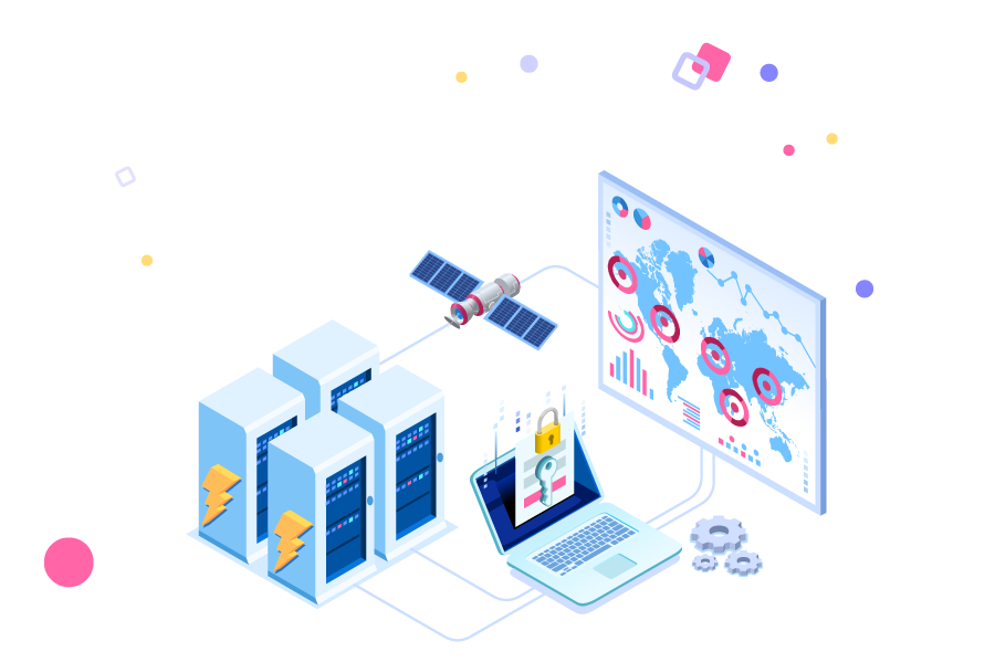 IT services illustrations