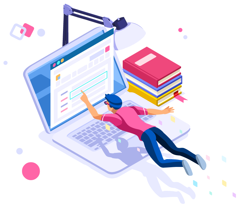 Blog illustration for IT workers